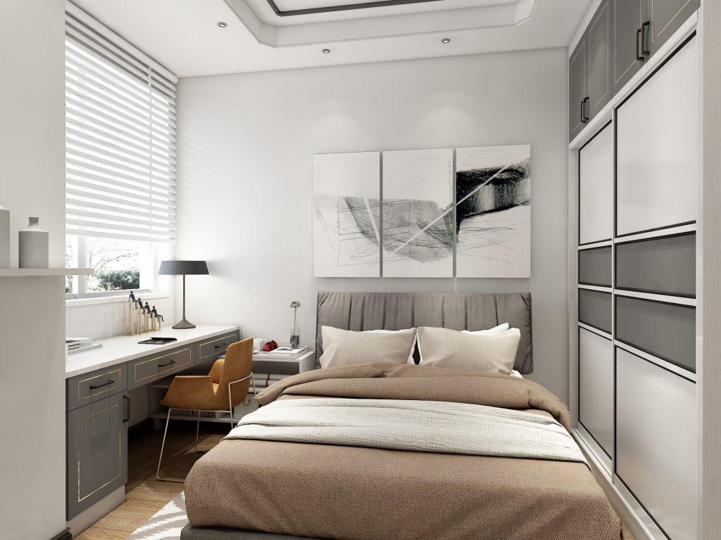 现代主卧-柏豪但丁家居-衣柜-全屋定制-高端定制品牌-舒适居家-乐享生活
